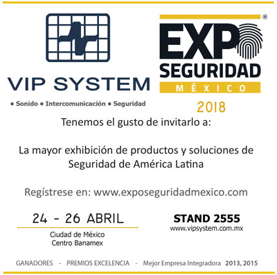 Expo Seguridad 2018 Mexico City