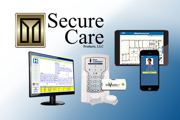 Secure Care Products wandering resident RTLS software